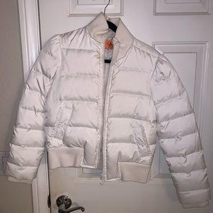 Juicy White Puffer Jacket
